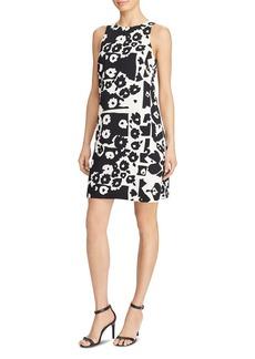 Lauren Ralph Lauren Abstract Print Shift Dress