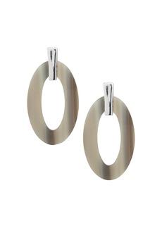 Lauren Ralph Lauren Acetate Oval Loop Drop Earrings