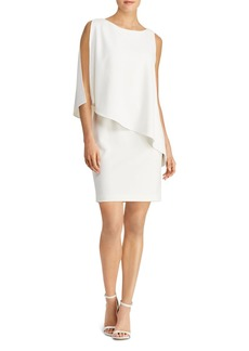 Lauren Ralph Lauren Asymmetric Cr�pe Dress