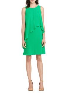 Lauren Ralph Lauren Asymmetric Drape Dress