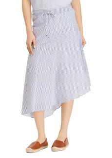 Lauren Ralph Lauren Asymmetric Drawstring Skirt