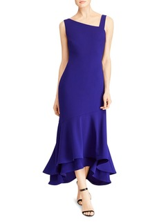 Lauren Ralph Lauren Asymmetric Gown