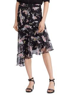 Lauren Ralph Lauren Asymmetric-Hem Peasant Skirt