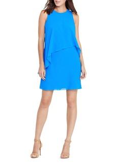 Lauren Ralph Lauren Asymmetric Overlay Dress