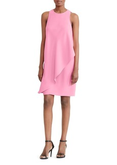 Lauren Ralph Lauren Asymmetric Overlay Shift Dress