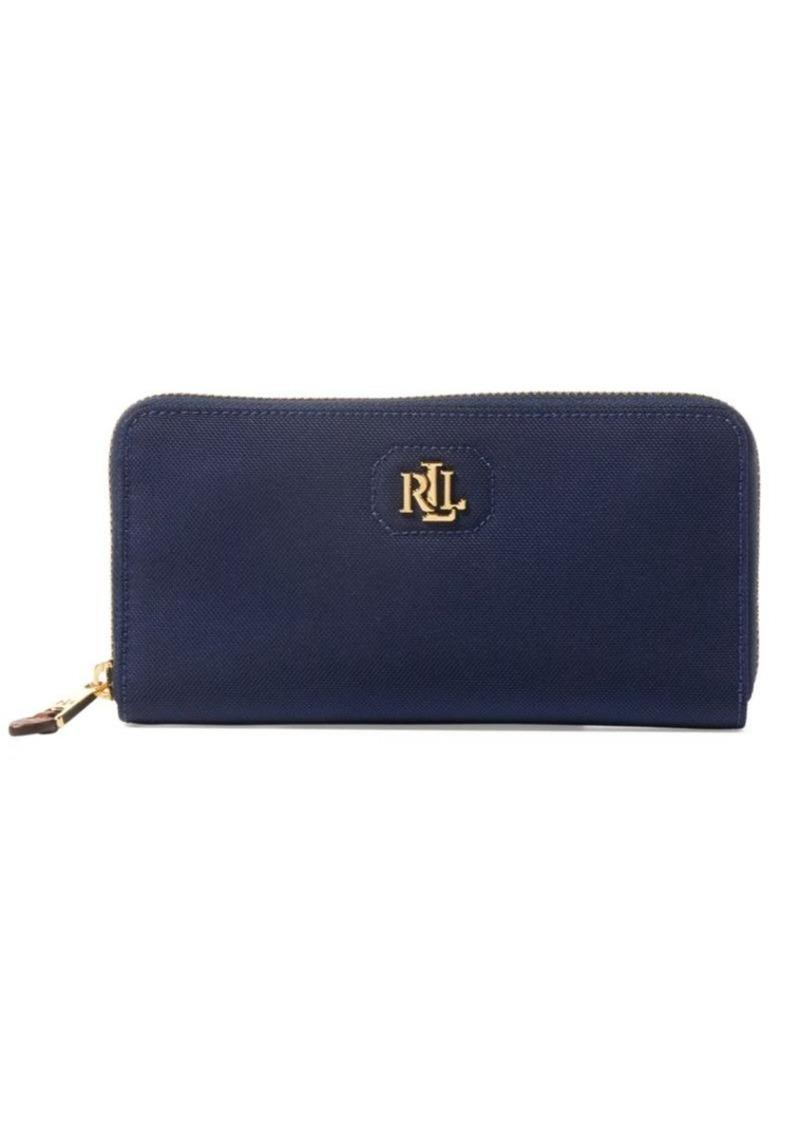 378e1695c76f SALE! Ralph Lauren Lauren Ralph Lauren Bainbridge Zip-Around Wallet