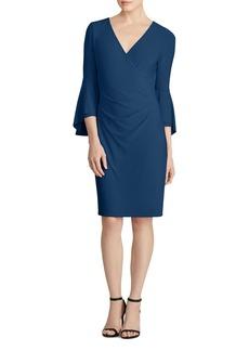Lauren Ralph Lauren Bell-Sleeve Jersey Dress