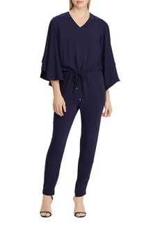 Lauren Ralph Lauren Bell Sleeve Jumpsuit