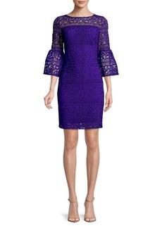 Lauren Ralph Lauren Bell-Sleeve Sheath Dress