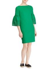 Lauren Ralph Lauren Bell-Sleeve Shift Dress