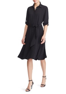 Lauren Ralph Lauren Belted Shirtdress