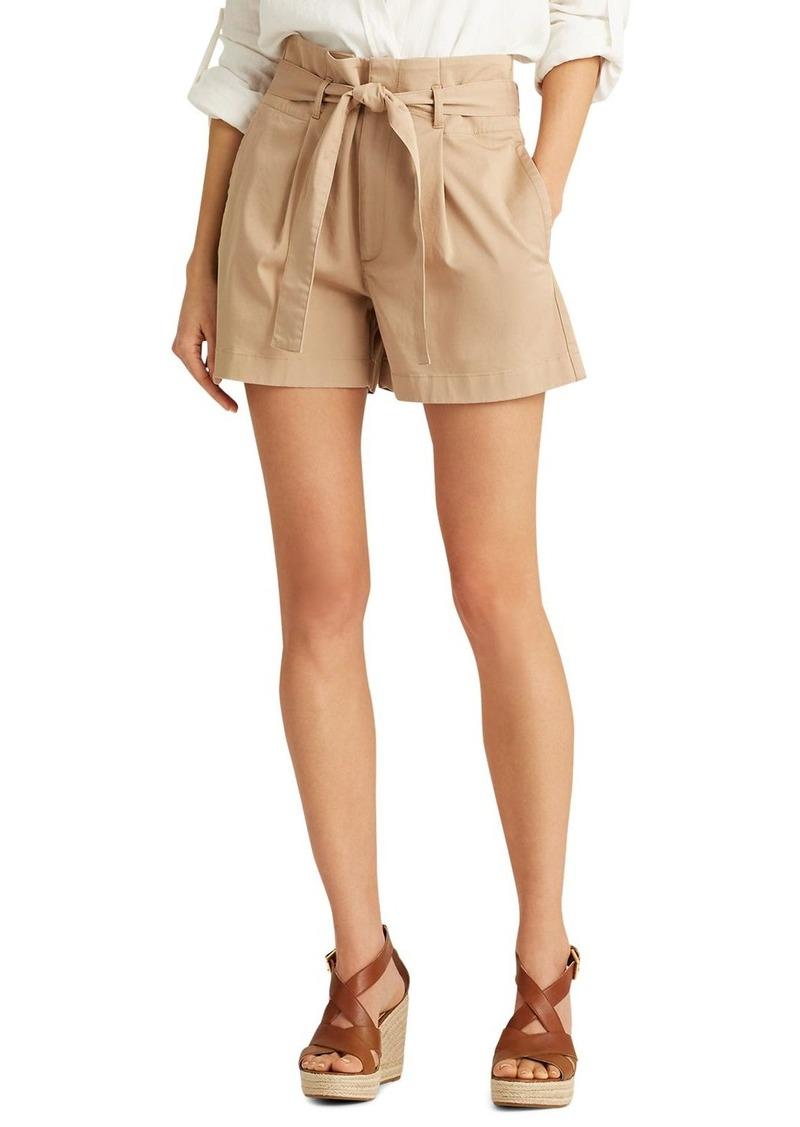 Lauren Ralph Lauren Belted Shorts