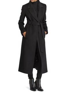 Lauren Ralph Lauren Belted Wool-Blend Coat
