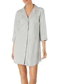Lauren Ralph Lauren Bingham Knits Cotton Sleepshirt
