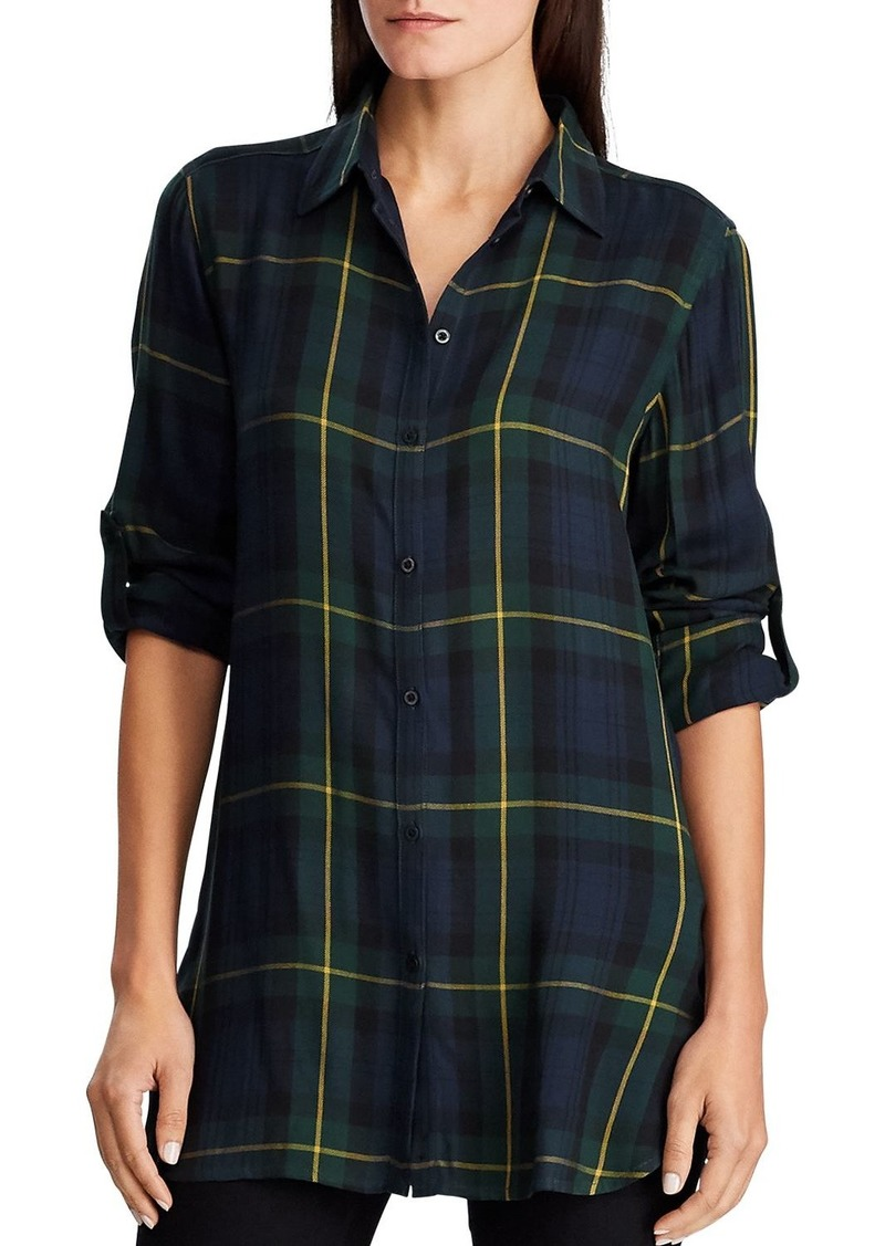Lauren Ralph Lauren Blackwatch Plaid Shirt