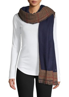 Lauren Ralph Lauren Blocked Plaid Scarf