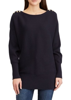 Lauren Ralph Lauren Boatneck Long-Sleeve Sweater