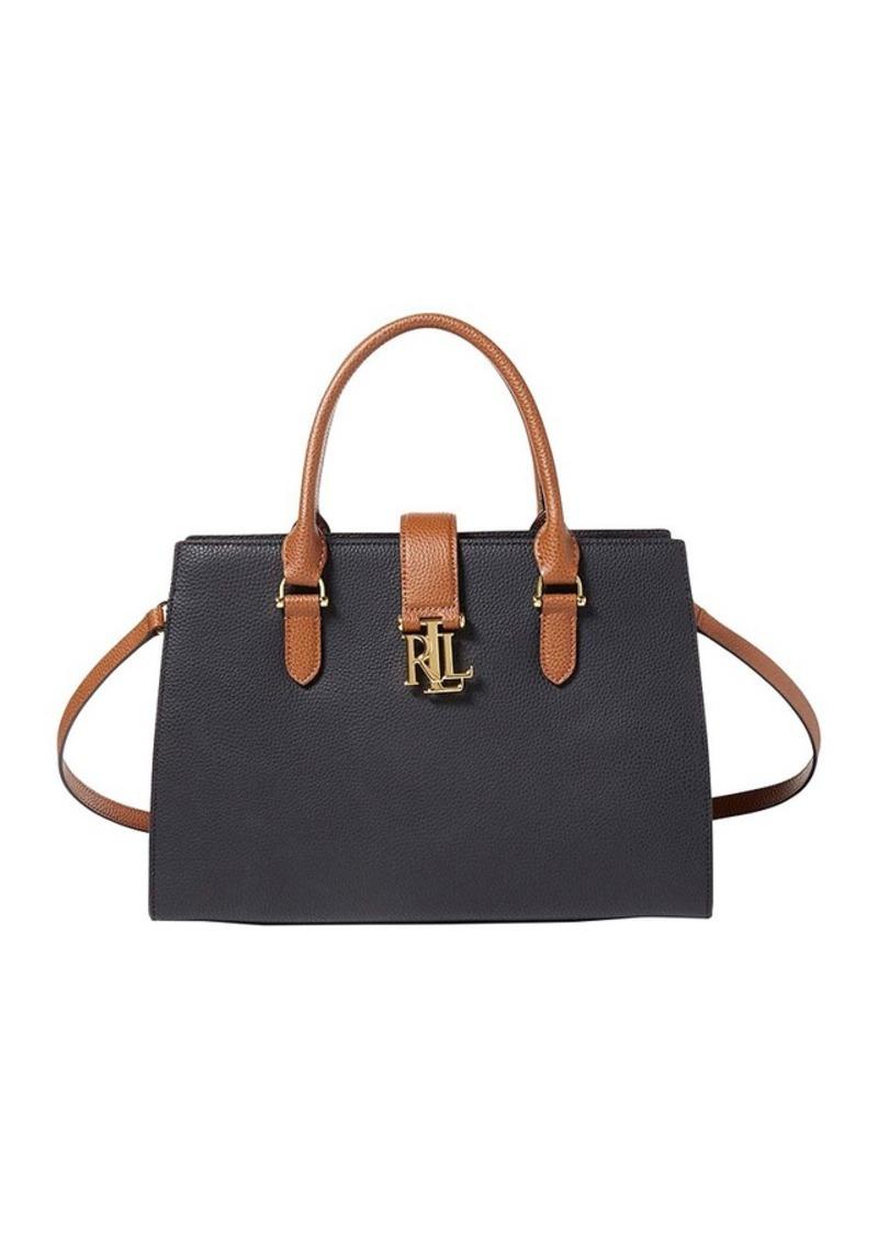 49440ac01b Ralph Lauren Lauren Ralph Lauren® Brigitte II Pebbled Leather Satchel