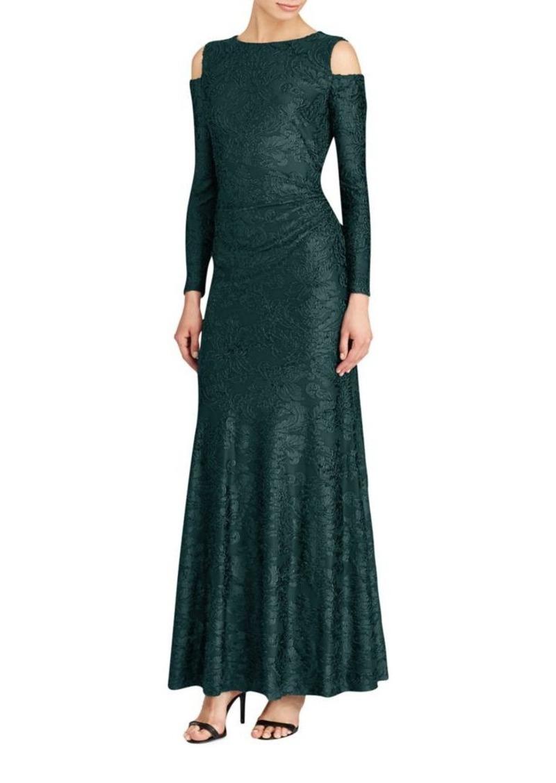 On Sale today! Ralph Lauren Lauren Ralph Lauren Burnout Velvet Gown