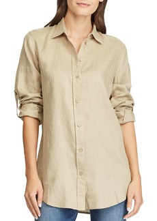 Lauren Ralph Lauren Button-Down Linen Shirt