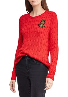 Lauren Ralph Lauren Cable-Knit Sweater