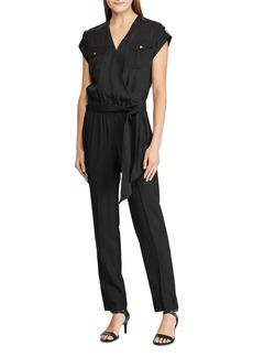 Lauren Ralph Lauren Cap-Sleeve Jumpsuit