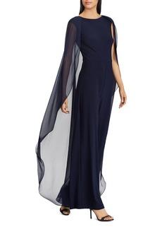 Lauren Ralph Lauren Cape-Overlay Jumpsuit - 100% Exclusive