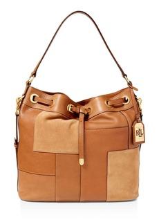 Lauren Ralph Lauren Cardwell Drawstring Bucket Bag