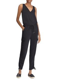 Lauren Ralph Lauren Cargo-Pocket Jumpsuit