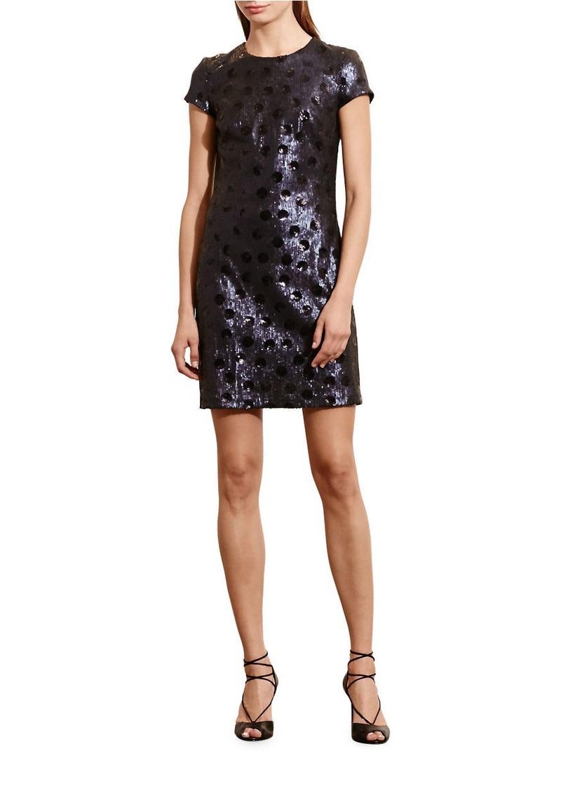 Ralph Lauren LAUREN RALPH LAUREN Carona Polka-Dot Sequin Dress | Dresses