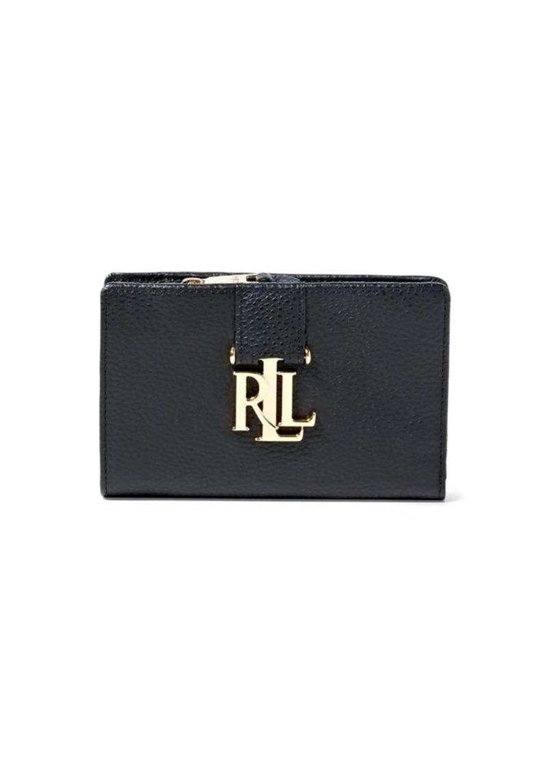 Ralph Lauren Lauren Ralph Lauren Carrington Compact Pebbled Leather ... 4f479a52f75d