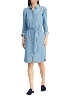 Lauren Ralph Lauren Chambray Shirt Dress