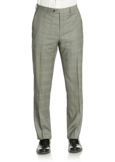 Lauren Ralph Lauren Classic-Fit Check Ultra-Flex Wool Suit Separate Pants