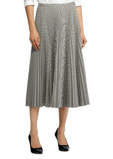 Lauren Ralph Lauren Checked Pleated Skirt