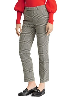 Lauren Ralph Lauren Checked Skinny Pants