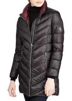 Lauren Ralph Lauren Chevron Quilted Jacket