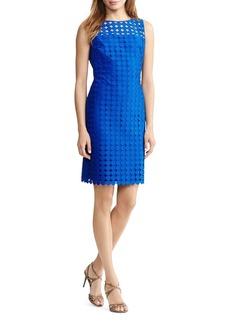 Lauren Ralph Lauren Circle Pattern Dress