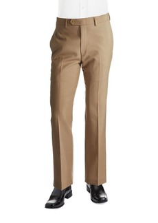 Lauren Ralph Lauren Classic-Fit Mid-Weight Flat-Front Wool Pants