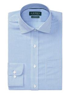 Lauren Ralph Lauren Classic-Fit Striped Cotton Dress Shirt
