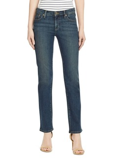 Lauren Ralph Lauren Slimming Classic Straight-Leg Jeans in Harbor