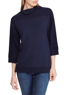 Lauren Ralph Lauren Classic Three-Quarter Sleeve Pullover