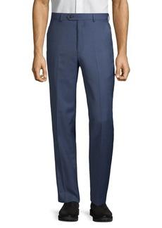 Lauren Ralph Lauren Classic-Fit Birdseye Wool-Blend Suit Separate Pants