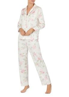 Lauren Ralph Lauren Classic Woven Long PJ Set