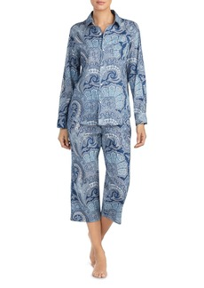 Lauren Ralph Lauren Classic Woven PJ Set