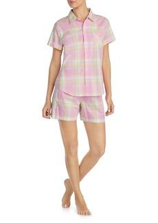Lauren Ralph Lauren Classic Woven Short PJ Set