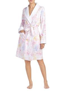 Lauren Ralph Lauren Classic Woven Short Robe