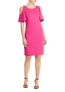 Lauren Ralph Lauren Cold-Shoulder Dress - 100% Exclusive