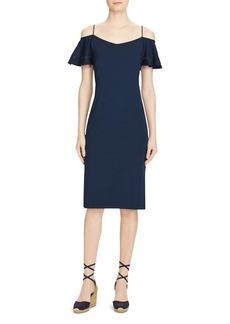 Lauren Ralph Lauren Cold Shoulder Dress