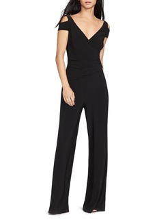 Lauren Ralph Lauren Cold Shoulder Jumpsuit