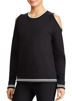 Lauren Ralph Lauren Cold Shoulder Sweatshirt